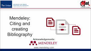 Video 18 Mendeley Citing In Text And Creating A Bibliography