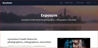 Tumblr Photography Themes 30 Best Tumblr Themes For Photographers 2019