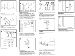 instructions for installation bypass closet doors