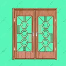 Door Vector Design Door Vector Art Wood Design Door Vector Art Png And