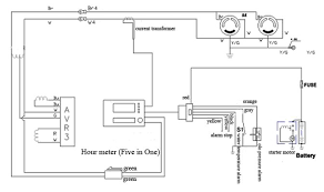 hour meter wiring wiring diagrams detailed Wall Outlet Wiring Diagram at Curtis Hour Meter Wiring Diagram