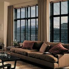 blinds and curtains. Modren And Wood Blinds In Entertainment Room And Blinds Curtains S