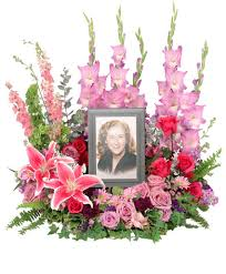 always in our hearts memorial flowers frame not included