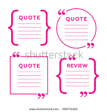 Brackets In Quotes Adorable Quotes Brackets Message Typography Phrase Quotation Stock Vector