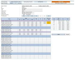 Employee Time Sheets Excel Employee Time Sheet Manager Organized Entrepreneur Templates