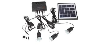 Guang Dong New Solar Energy Products Solar Battery With Phone Solar Powered Lighting Kits