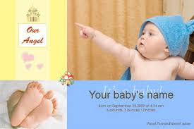 free baby announcement templates birth announcements templates free photoshop