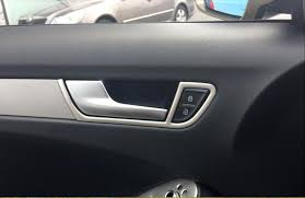 audi a4 interior 2012. online shop interior inner door handle bowl cover trim 4pcs for audi a4 b8 2008 2009 2010 2011 2012 2013 2014 2015 aliexpress mobile