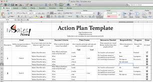 Sales Action Plan Template Word Rome Fontanacountryinn Com