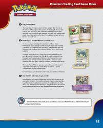 Pokemon HD: Rules Of Playing Pokemon Card Game