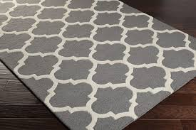 interior grey white area rug trellis rugs wool for interesting gray and loveable 0