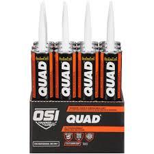 Quad Caulk Color Chart Osi Quad Advanced Formula 10 Fl Oz Gray 551 Window Door And Siding Sealant 12 Pack
