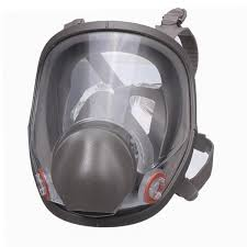 reusable 6800 full face gas mask spraying painting respirator silicone facepiece cod
