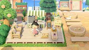 The final ingredient that gives animal crossing its winning formula is allowing visitors to your island. My Outdoor Coffee Shop Animalcrossing