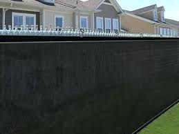 chain link fence privacy screen. Privacy Screen For Chain Link Fences Fence Mesh Windscreen Outdoor Backyard How To Install On