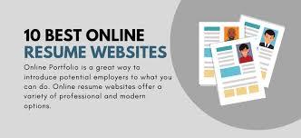 Best Resume Websites 10 Best Online Resume Websites You Should Know Lauyou Learning