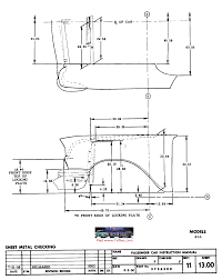 Radiator support measurements 57 chevy - TriFive.com, 1955 Chevy ...