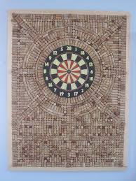 cork dart board wall protector this is