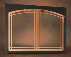 marvellous design portland fireplace doors 21 pictured above portland willamette ovation deco arched rectangle cabinet fireplace