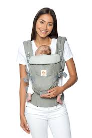 Adapt Baby Carrier - Best Carrier for Newborn - Black | Ergobaby