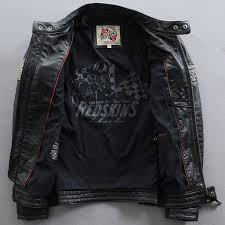 new fashion men s leather jacket cowhide genuine leather biker men jacket punk motorcycle er winter coats