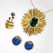 1970s Jewellery Designers A Tribute To 1960s Londons Radical Jewellery Opens In Nyc