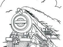 Polar Express Coloring Pages Ticket Page Train Chisuzulefwin Polar