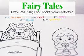 Fairy Tales Short Vowel Activities: Little Red Riding Hood