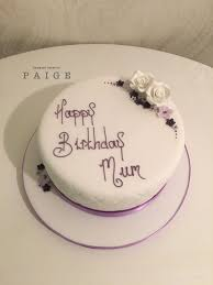 Simple Floral Designer Cakes By Paige