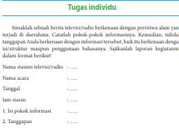 Maybe you would like to learn more about one of these? Kunci Jawaban Bahasa Indonesia Kelas 8 Halaman 12 Tugas Individu Bab 1 Ilmu Edukasi
