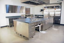 Drop Stainless Steel Sink Commercial Work Tables Table Tops Used