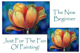 learn to paint with acrylics beginner art class
