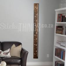 Growth Chart Ruler Decal Growth Chart Wall Decal Ruler