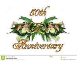 Wedding Anniversary Calla Lilies 50th Stock Photos Image 8515083