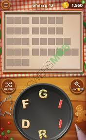 Word Cookies Cherry Level 12 Answers My Cheat Site