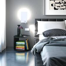 wall mounted reading light for bed contemporary bedroom ideas small ...
