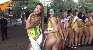 Best ass contest brazil france