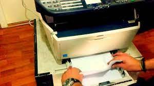 Kyocera kağıt sıkışma / paper jam - YouTube