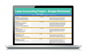 Lease Accounting Project Budget - Leaseaccelerator