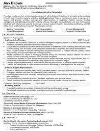 Health Care Specialist Sample Resume Medical Resume Examples Resume Professional Writers 2