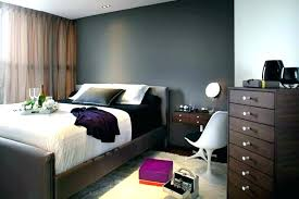 dark wall bedroom ideas grey walls gray accent formal decorating color and purple images