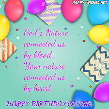 Cousin Birthday Quotes Enchanting Happy Birthday Wishes For Cousin Quotes Images Memes Happy Wishes