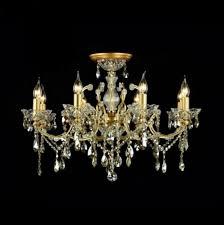 Casa Padrino Barock Decken Kristall Kronleuchter Gold 76 X H 52 Cm Antik Stil Möbel Lüster Leuchter Hängeleuchte Hängelampe