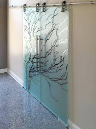 glass door design view larger image glass etched and sandblasted sliding barn doors full glass doors glass door design