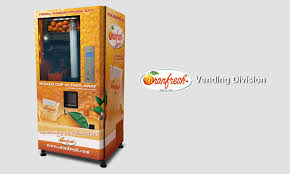 Oranfresh Vending Machine Cost Delectable 48 FRESH Orange Juice Vending Machine Easy Business Idea
