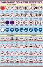 Road Traffic Signs Chart N C Kansil Sons Kansil