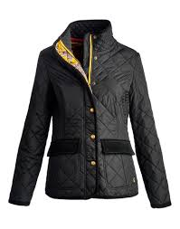 Joules Ladies' Moredale Quilted Jacket – Black P_MOREDALENEW ... &  Adamdwight.com