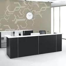 2 person reception desk Build In Person Office Reception Desk Budget Meridian Furniture Nova Counter Wotnow Two Person Reception Desk Indoqq