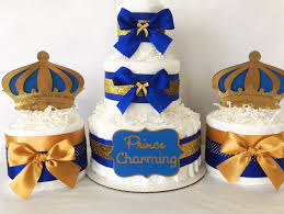 Blue And Gold Baby Shower Decorations 17 Best Images About Prince Princess Baby Shower On Pinterest