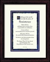Persistence Quote Persistence By Calvin Coolidge 40x40 Framed Impressive Calvin Coolidge Quotes Persistence